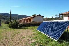 Le camere nuove e i pannelli solari