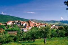Vista di Batignano