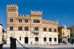 Il palazzo della Provincia in piazza Dante Alighieri a Grosseto