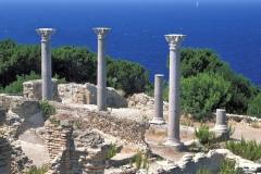 Vista di Giannutri: la villa romana