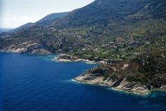 Vista dell'isola del Giglio