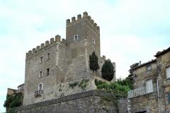 La rocca del paese di Manciano